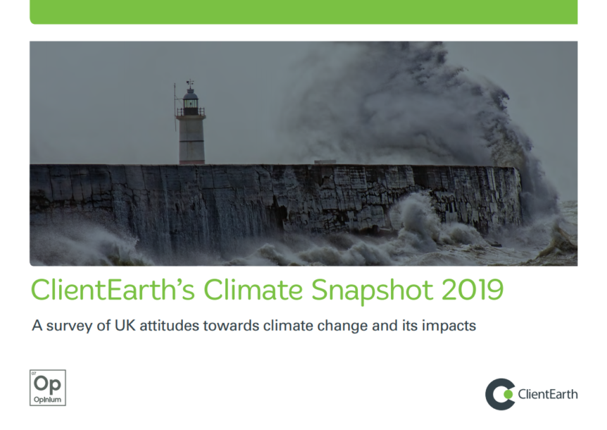 ClientEarth – Climate Snapshot 2019
